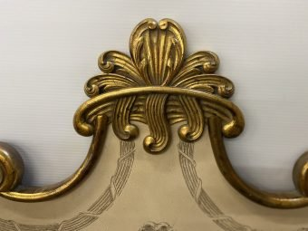 Antique King Headboard Detail